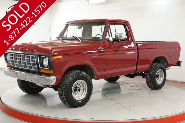 1978 FORD F150 FRAME OFF RESTORED PS PB REBUILT 460 V8 4x4
