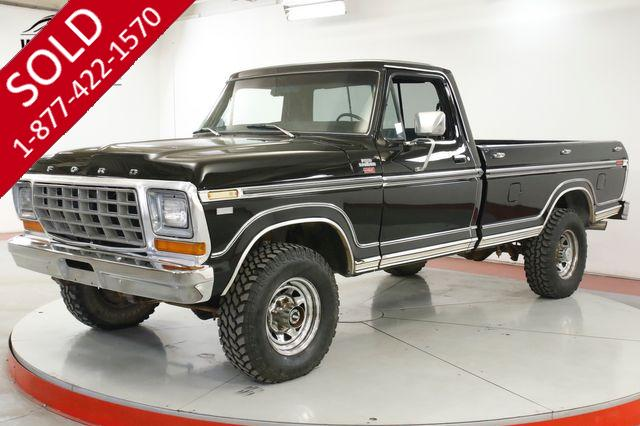 1979 FORD  F250 SUPERCAB RARE RANGER LARIAT PACKAGE 400 V8 AUTO PS PB