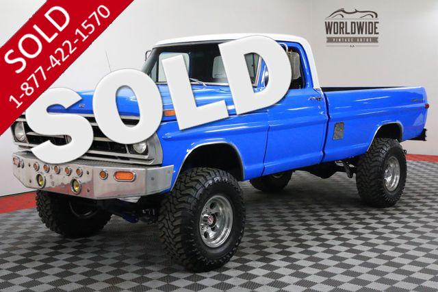 1972 FORD F250 HIGH BOY FRAME OFF RESTORED 4X4 460 V8