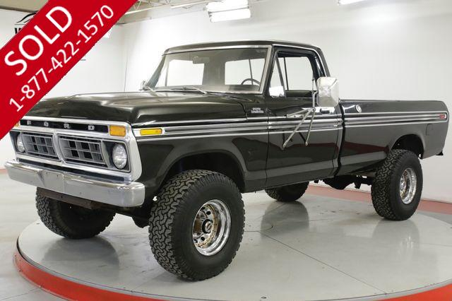 1977 FORD F250 HIGH BOY 4x4. TWO OWNER! V8 PS PB LOW MILES
