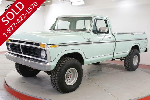 1977 FORD  F250 EXPLORER PACKAGE 351M AUTOMATIC 4X4 PS PB