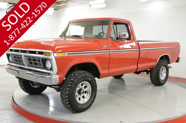 1977 FORD F250 400 V8 AUTO 4X4 FRONT DISC PS PB A/C