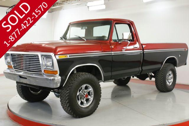 1975 FORD  F250 HIGH BOY FRAME OFF RESTORED 4x4 LIFT CHROME
