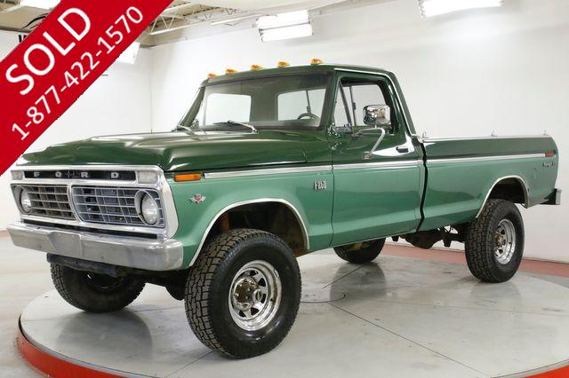 1974 FORD F250 RANGER XLT 390 V8 AUTO 4x4 PS PB MUST SEE