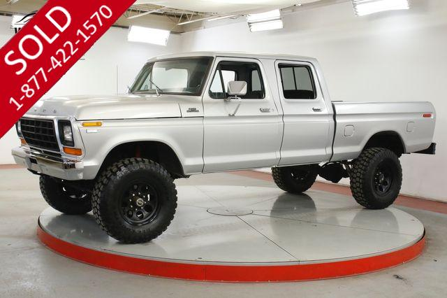 1979 FORD F250  4x4 CREW CAB TRUCK V8 PS PB RARE SHORTBED
