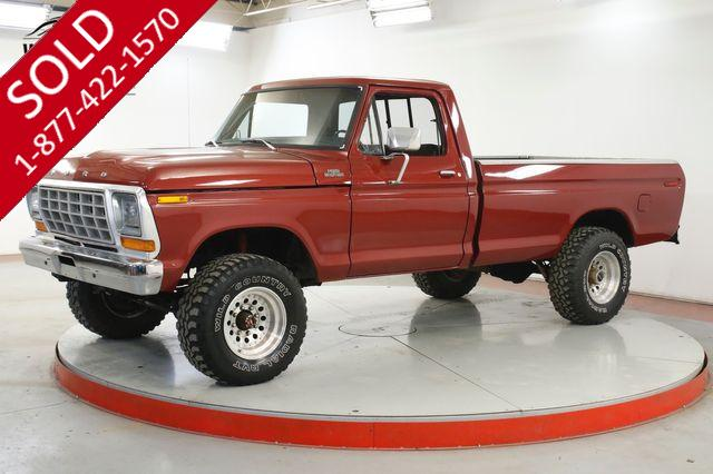 1979 FORD  F250 4x4 3/4 TON DRY NW TRUCK 390 V8 PS PB