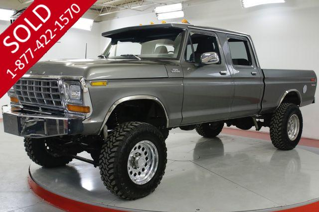 1978 FORD  F350 4 DOOR 460 V8 AUTOMATIC 4X4 LIFTED PS PB