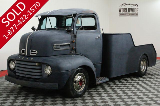 1952 FORD F6 COE 460 V8. MODERN CHASSIS. AUTO ALL STEEL