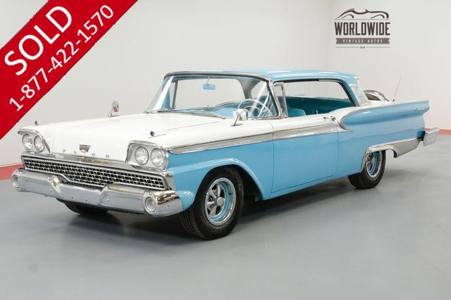 1959 FORD FAIRLANE GALAXIE 500 RESTORED CONTINENTAL KIT COLD AC