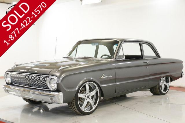 1962 FORD FALCON RESTOMOD VINTAGE AC BUILT 289 WILWOOD DISC
