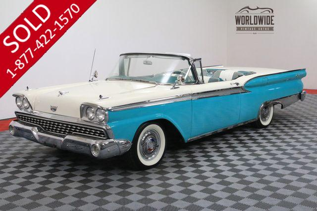 1959 FORD GALAXIE 500 SKYLINER HARD TOP CONVERTIBLE AUTOMATIC V8