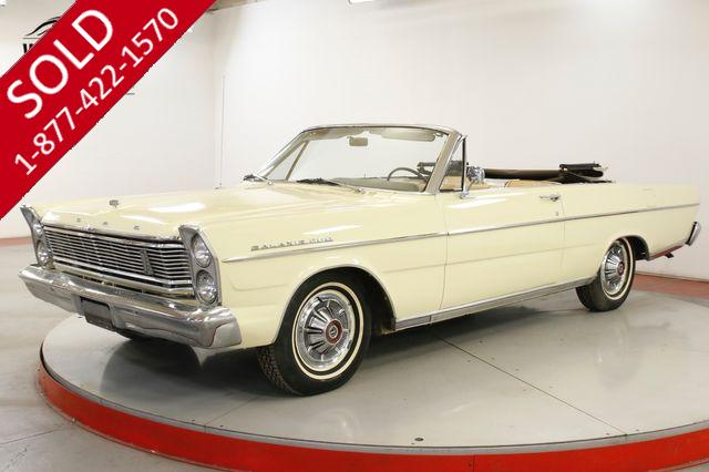1965 FORD GALAXIE 500 CONVERTIBLE 289 PS READY FOR SUMMER