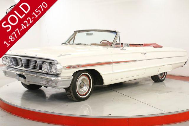 1964 FORD  GALAXIE CONVERTIBLE. V8. AUTO. AC. RESTORED MUST SEE