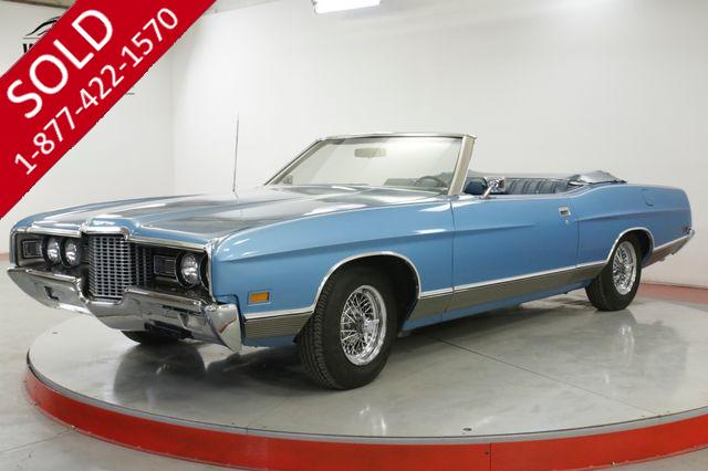 1972 FORD  LTD CONVERTIBLE! RARE TIME CAPSULE 351 V8! AC!