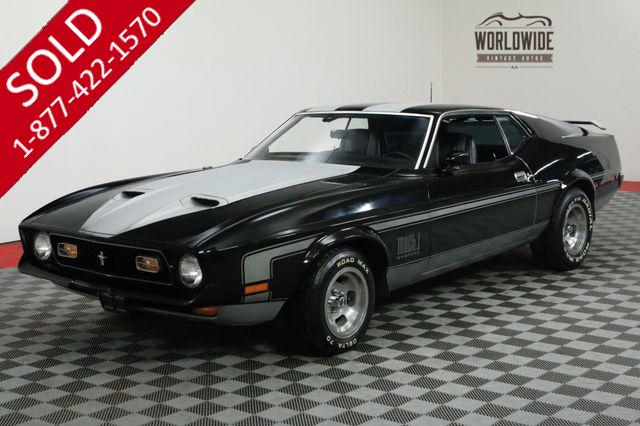 1971 FORD MUSTANG SHOWROOM ORGINAL. 351C V8! HURST 4-SPEED