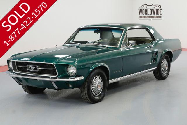 1967 FORD MUSTANG COUPE 289 V8 AUTOMATIC PS PB MUST SEE
