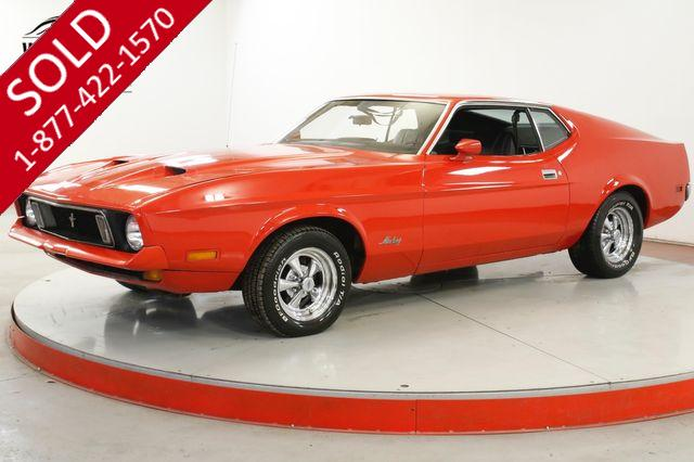 1972 FORD MUSTANG  Q CODE 351 4 BARREL CAR AUTO CRAGARS