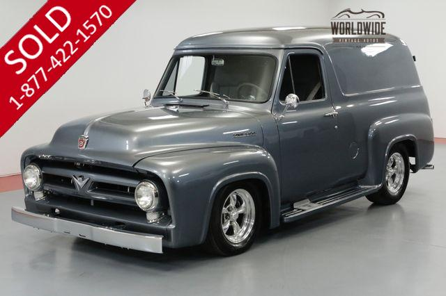 1954 FORD PANEL RESTORED DELIVERY. 351 V8 AUTO AC AIR RIDE