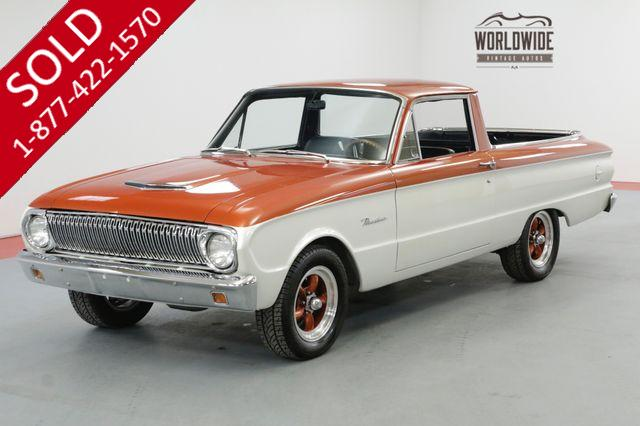 1962 FORD RANCHERO FRAME OFF RESTORED $28K+ BUILD 302 V8 PB