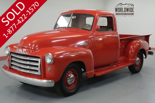 1951 GMC 100 FRAME OFF RESTORED. 4 SPEED. 12 VOLT. RARE!