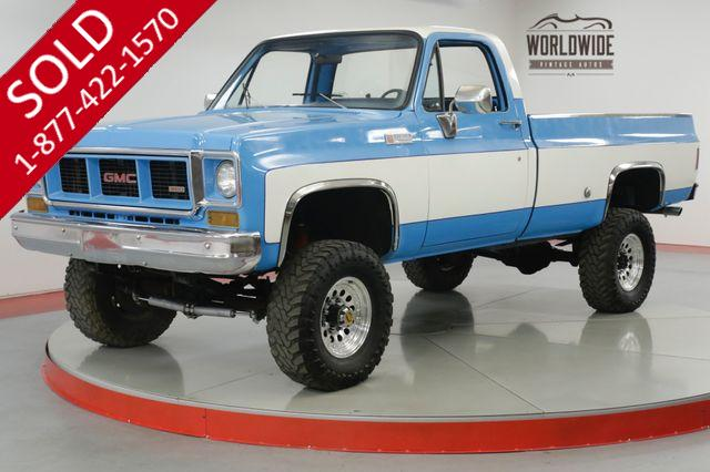 1973 GMC 100 383 STROKER V8 4X4 RESTORED 6IN LIFT