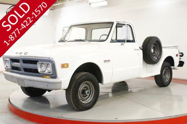1968 GMC 1500 350V8 SM465 4SPD 4X4 RARE STEP SIDE HALF TON