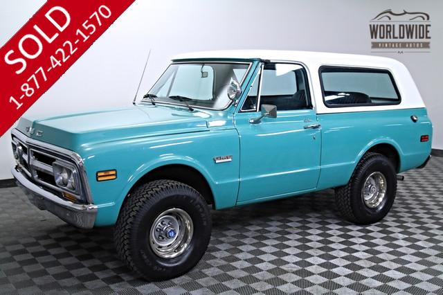 1971 GMC Jimmy Blazer 4x4 350 V8 for Sale