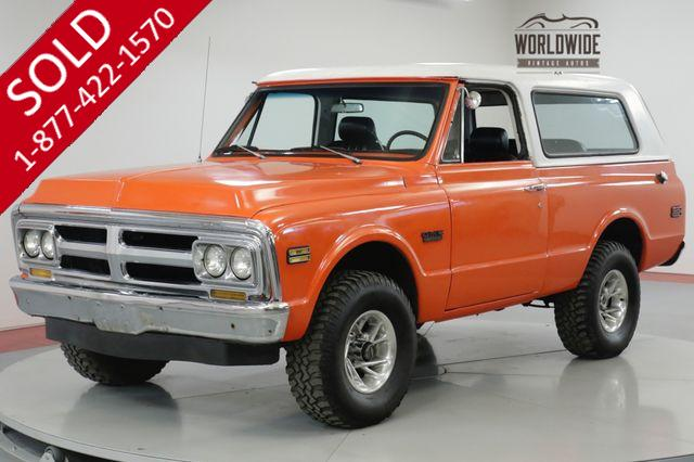 1970 GMC JIMMY RESTORED RARE FIRST YEAR PRODUCTION V8