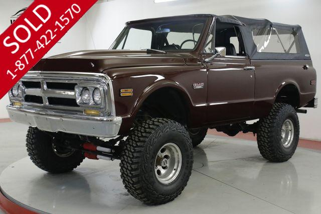 1972 GMC  JIMMY RESTORED CONVERTIBLE V8 LIFT CHROME