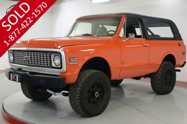 1972 GMC JIMMY V8 PS PB REMOVABLE TOP HUGGER ORANGE BLAZER