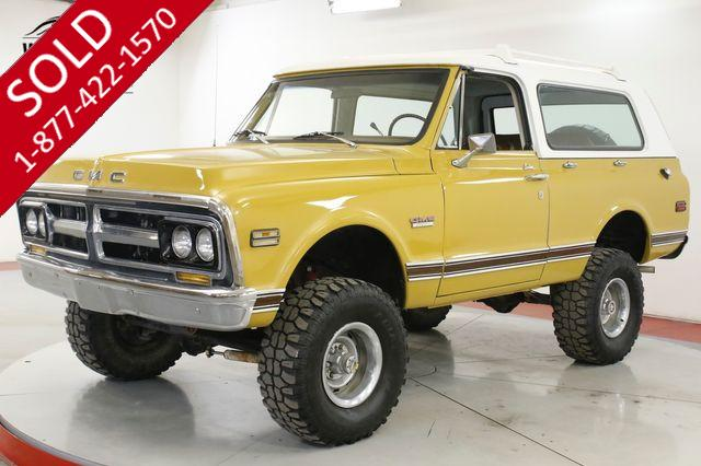 1972 GMC JIMMY V8 4X4 PS PB CONVERTIBLE TIME CAPSULE BLAZER