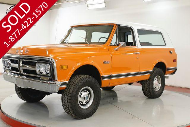 1972 GMC JIMMY 6.2L AUTO HIGH DOLLAR RESTOMOD BUILD BLAZER
