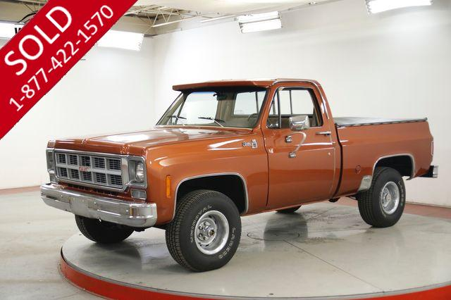 1978 GMC K15 SHORT BED 4x4 RARE MANUAL V8 COLLECTOR K10