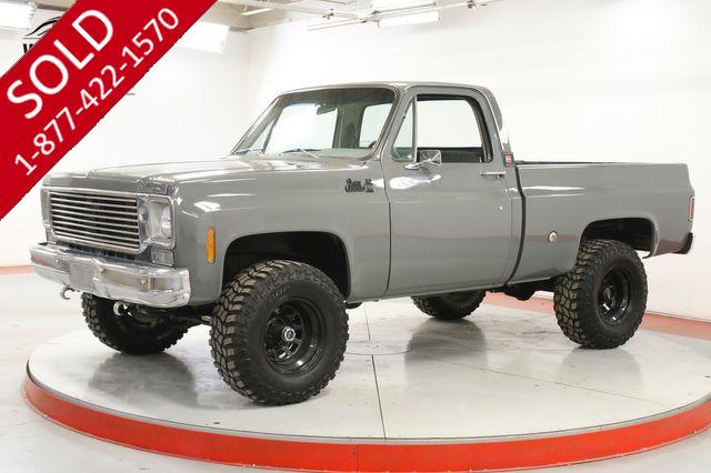 1978 GMC K15 SIERRA GRANDE SHORTBED 4X4 V8 PS PB LIFT