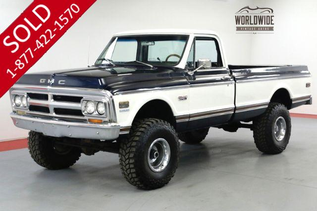 1972 GMC SIERRA 2500 TRUCK RESTORED LIFT V8 PS PB 4x4 AUTO!