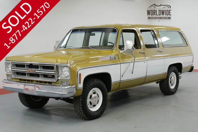 1976 GMC SUBURBAN RARE COLLECTOR TIME CAPSULE