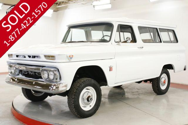 1964 GMC SUBURBAN RESTORED K10 RARE 4x4 COLLECTOR NAPCO