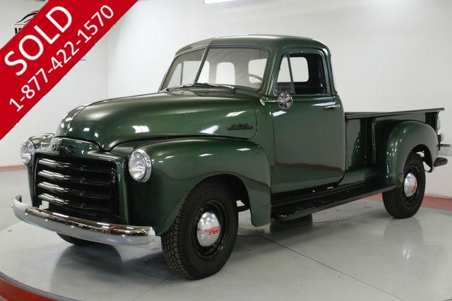 1953 GMC TRUCK RARE 5 WINDOW RESTORED NEW WOOD BED