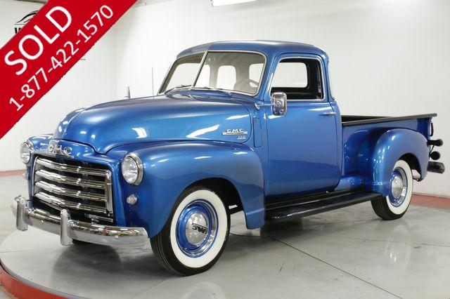 1949 GMC TRUCK 100 FRAME OFF RESTORED 5 WINDOW SHOW WINNER
