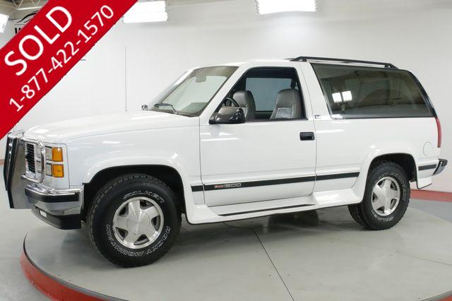 1994 GMC YUKON BLAZER 55K ORIGINAL MILES COLLECTIBLE 4x4 LEATHER