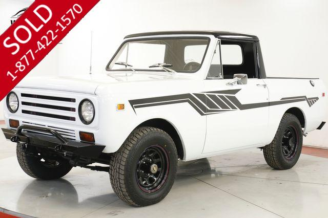 1971 INTERNATIOAL SCOUT 4x4 345 V8 RARE 1/2 CAB FACTORY SHEET METAL