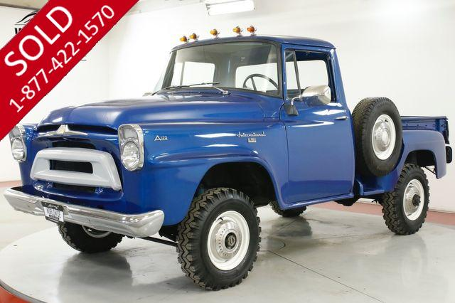 1958 INTERNATIONAL  A120 RARE SHORTBOX 4X4 4-SPEED MUST SEE