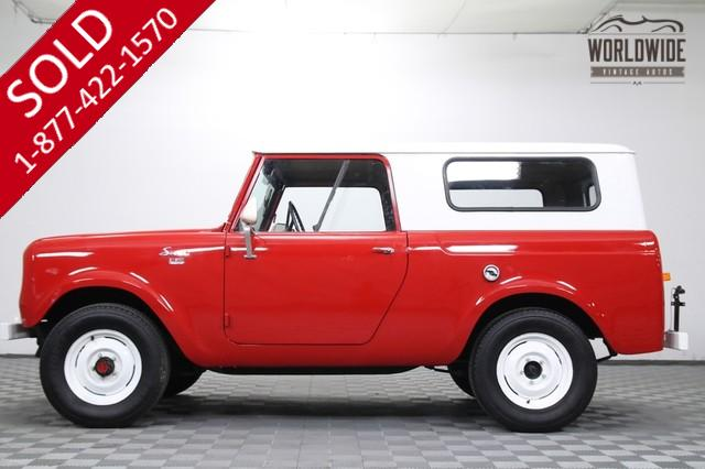 1962 International Scout for Sale