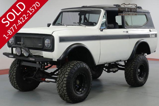 1974 INTERNATIONAL  SCOUT II  304 V8 AUTO 4 BARREL PS PB 4X4 REMOVABLE TOP