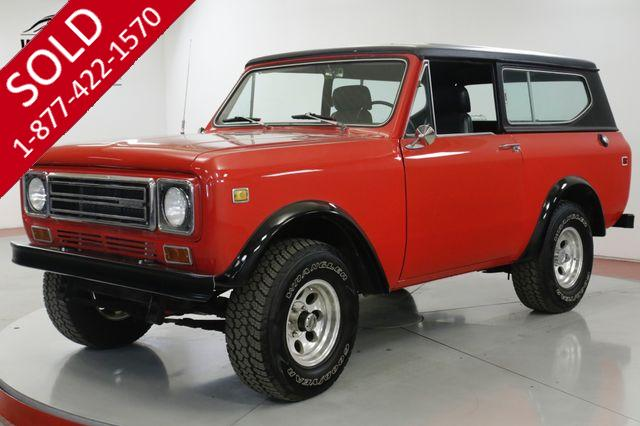 1977 INTERNATIONAL SCOUT II RESTORED REBUILT 345 V8 HARDTOP AUTO