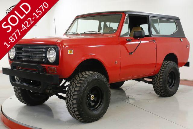 1972 INTERNATIONAL SCOUT II CUMMINS DIESEL 4X4 LIFTED STANCE PS PB AUTO