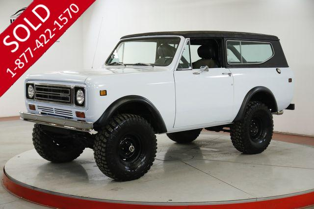 1978 INTERNATIONAL  SCOUT II 345 V8 AUTO PS PB REMOVABLE TOP 33IN TIRES
