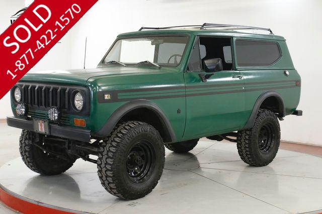 1979 INTERNATIONAL SCOUT II V8 AUTO LIFT BILSTEIN SEATS 6 CONVERTIBLE