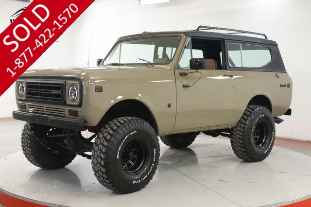 1977 INTERNATIONAL SCOUT II 304 V8 PS PB 4X4 FACTORY HARDTOP 4SPD 46K M!