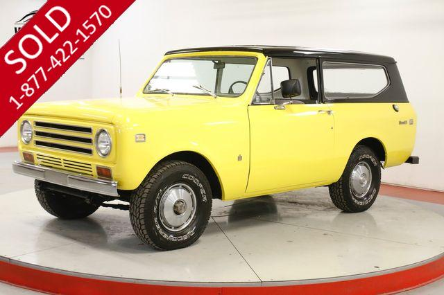 1971 INTERNATIONAL SCOUT II 304 V8 4-SPEED 4X4 REMOVABLE TOP